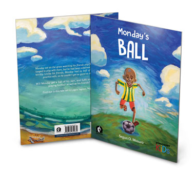 Photo of Monday's Ball Paperback International Print Run front and back.